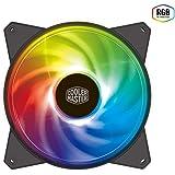 Cooler Master MasterFan MF120R RGB PCケースファン [120mm径 RGB LED搭載] FN1222 R4-C1DS-20PC-R1 ブラック