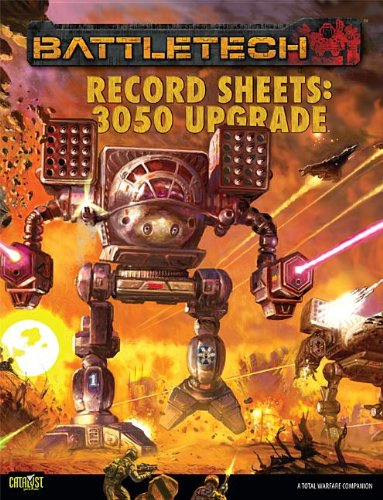 Battletech Record Sheet 3050 Upgrade *OP Catalyst Game Labs