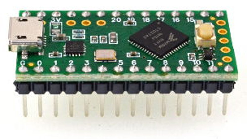Teensy LC with pins