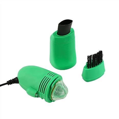 Mini USB Aspiradora Teclado Limpiador Polvo Colector Ordenador Portatil Magic Teclado Limpiador para Limpieza Teclado