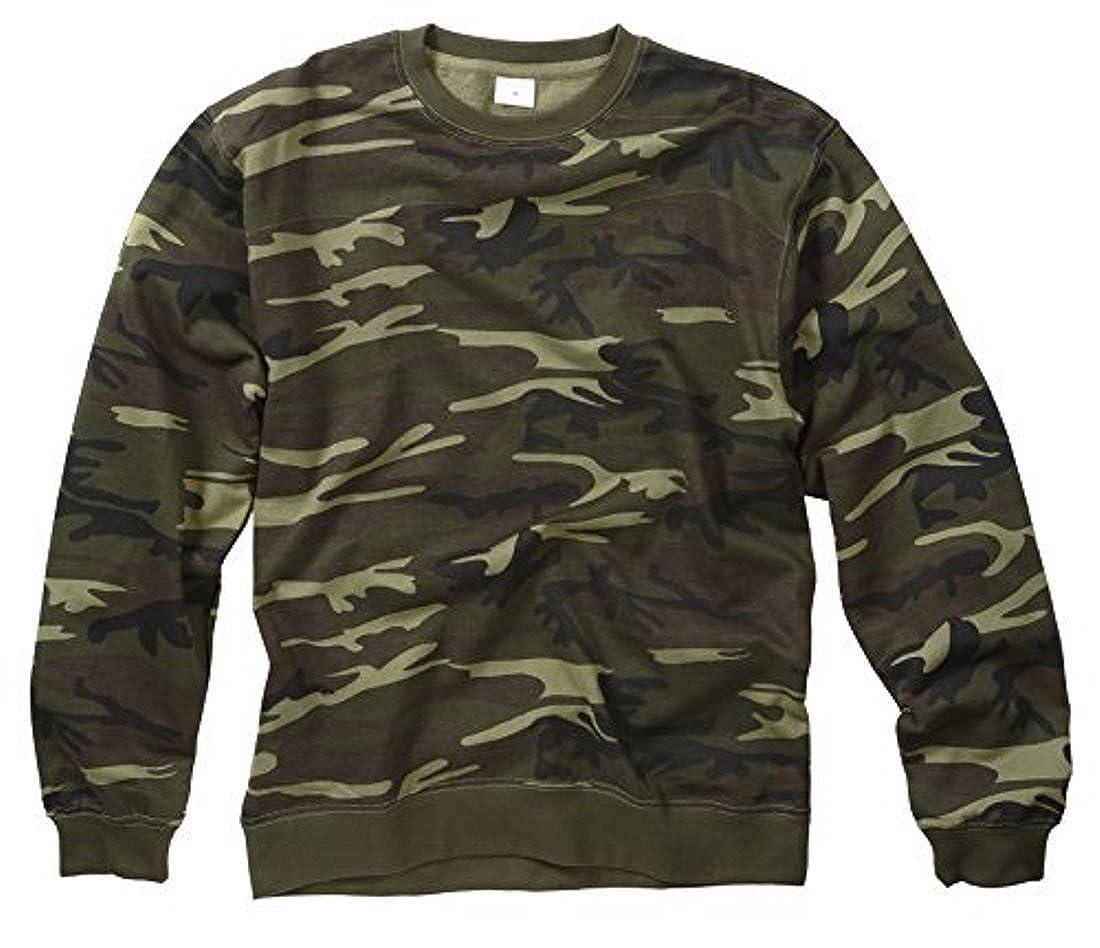 Camouflage Woodland Pattern Sweater