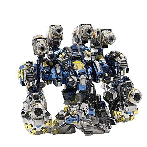 2016 MU 3D Metal Puzzle Thor Armor YM-N020 Joint Movable DIY 3D Laser Cut Models Jigsaw Toys Maplemu