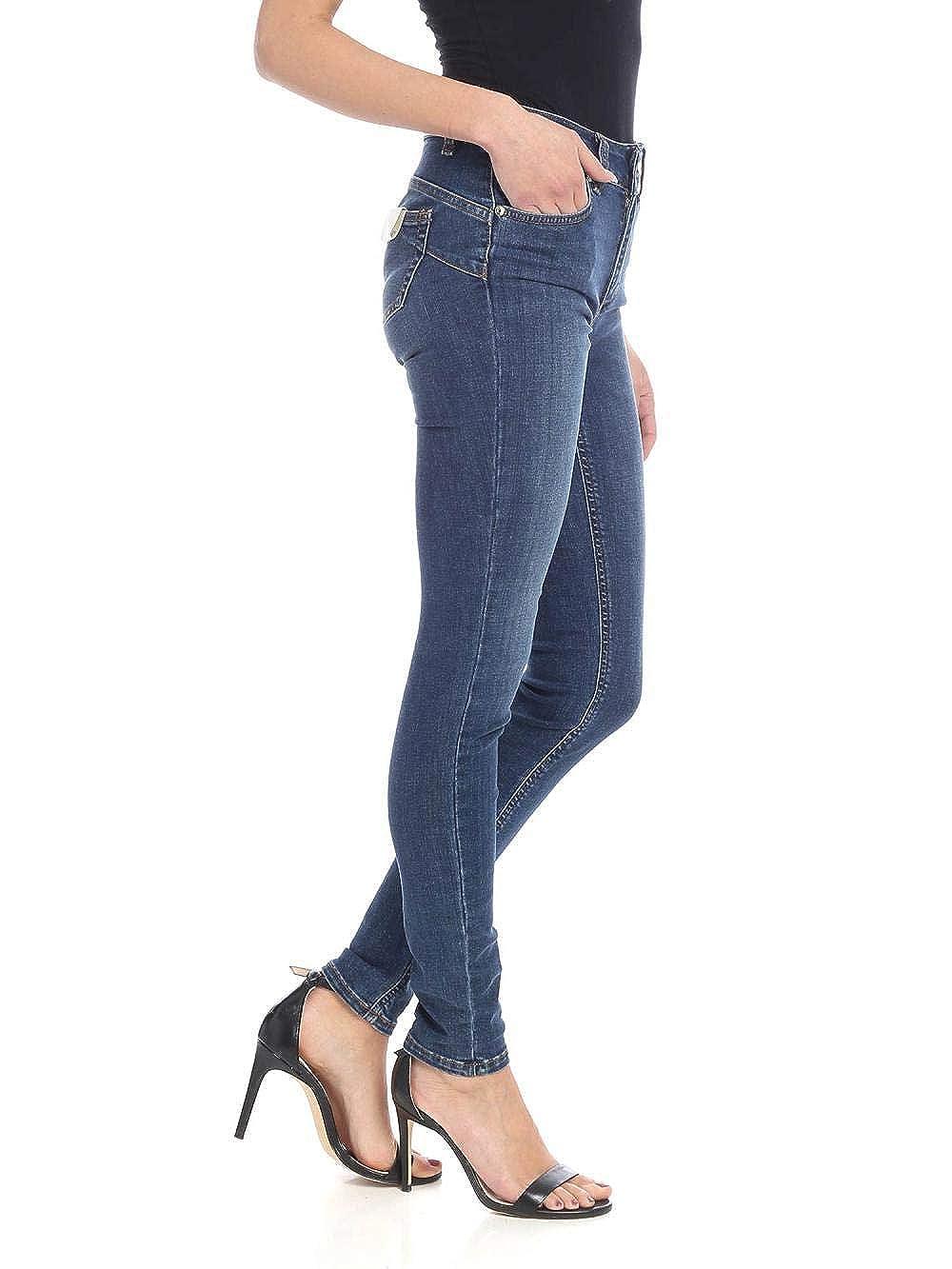 Liu-Jo Pantalone Donna MOD UXX037D4186 Denim Blue