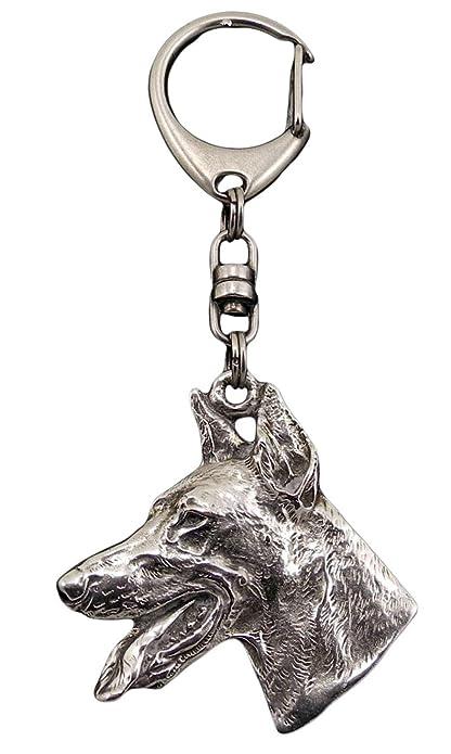 Dóberman, llavero del perro, ArtDog: Amazon.es: Joyería