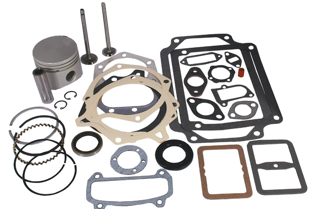 Stens 785-384 Overhaul Kit, Fits Kohler: K241, for 10 HP 0.01 oversize horizontal engines, Not compatible with greater than 10% ethanol fuel by Stens (Image #1)