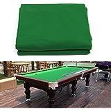 Boshen Billiard Cloth Pool Table Felt with 6 Cloth Strips for 7/8/9 Foot Table Fast Pre-Cut Rails, 3 Fabrics for Choice