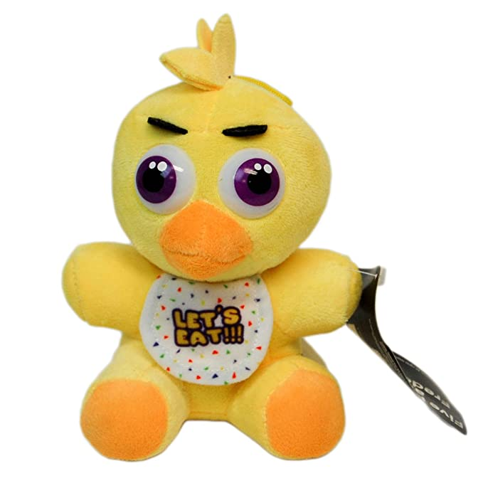 """Five Nights At Freddy's Chica 6"""" Plush"""