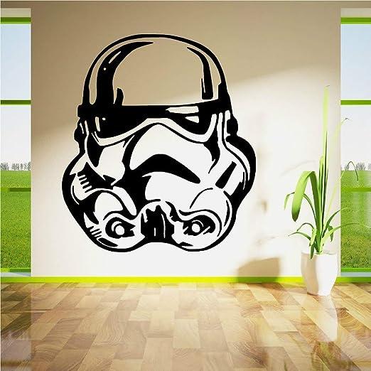 Star Wars Tatuajes de Pared Strom Trooper Cara Etiqueta de La ...