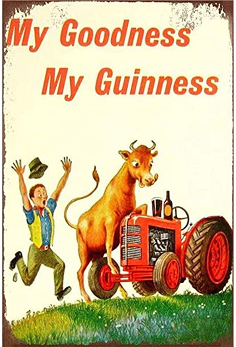 Metal Tin Sign my guinness Pub Home Vintage Retro Poster Cafe ART