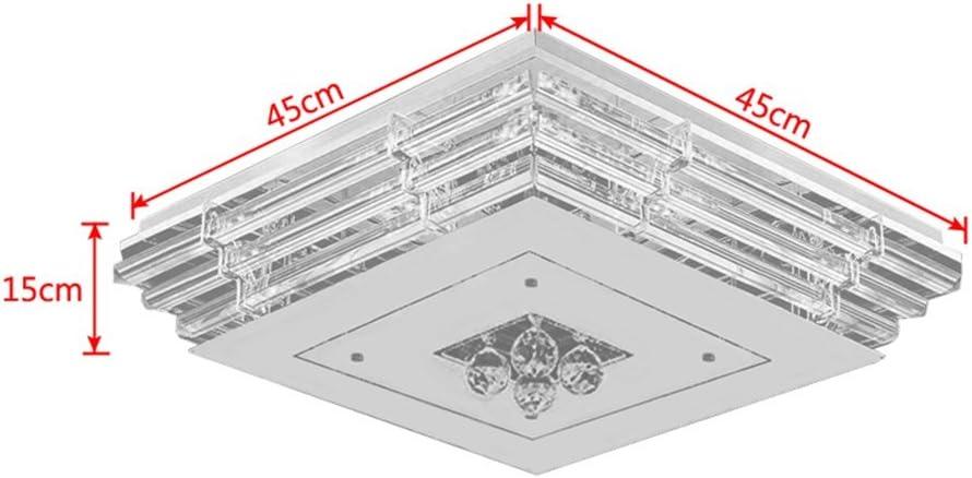 Kaltwei/ß, 108W HENGMEI 108W Kristall Deckenleuchte Deckenlampe Kaltwei/ß Deckenbeleuchtung Kronleuchter Pendelleuchte f/ür Wohnzimmer Schlafzimmer