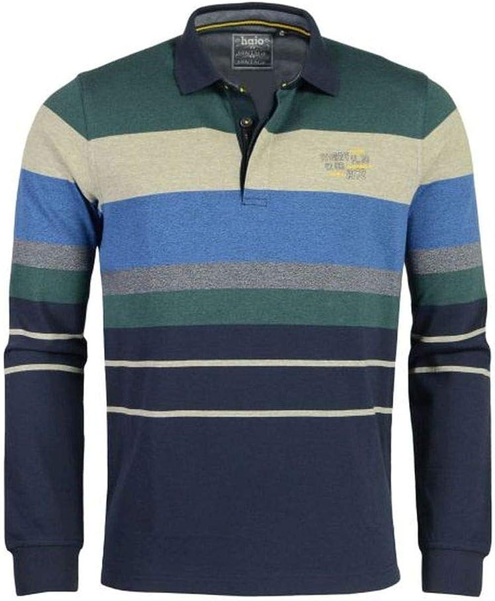 Hajo Stay Fresh - Camiseta de Rugby para Hombre 2648/B, Marine XXXL: Amazon.es: Ropa y accesorios