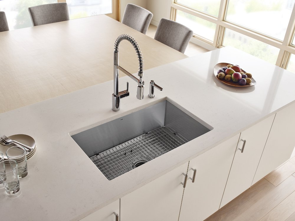 Moen 5923 Align One-Handle Pre-Rinse Spring Pulldown Kitchen Faucet with Power Clean, 1 count, Chrome by Moen (Image #6)