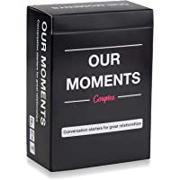 OUR MOMENTS Couples: 100 Thought Provoking Conversation Starters for Great Relationships - Fun Conversation Cards Game…
