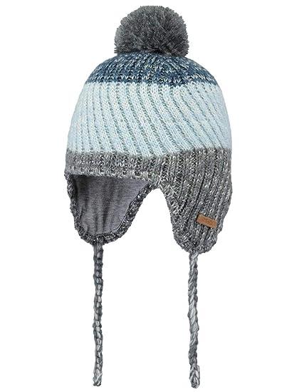 58ee97ba9eaa9 Barts-Bonnet Pompon Bleu Bebe garçon du 1 au 3 Ans: Amazon.fr: Vêtements et  accessoires