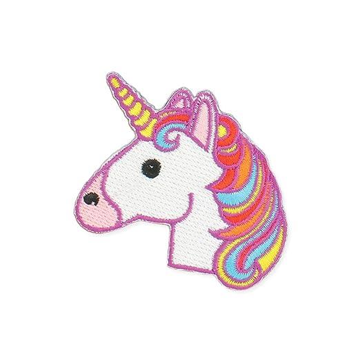Amazon.com: Zad Magical Unicorn Embroidered Iron On Patch Applique on rainbow tree, rainbow company, rainbow crane, rainbow golf,