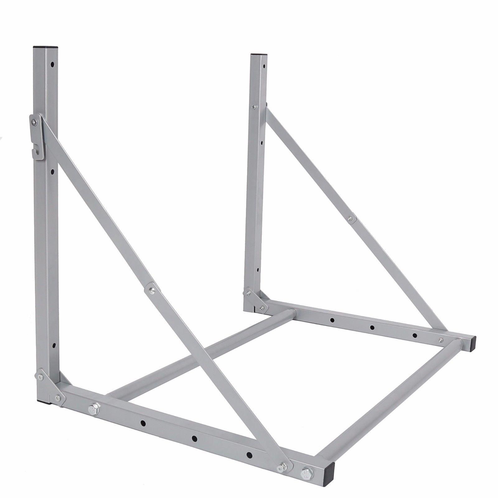 Tire Wheel Rack Storage Holder Heavy Duty Garage Wall Mount Steel New 4 Folding