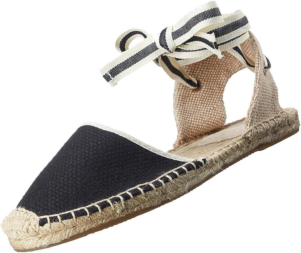 rismart Women's Slingback Flat Heel