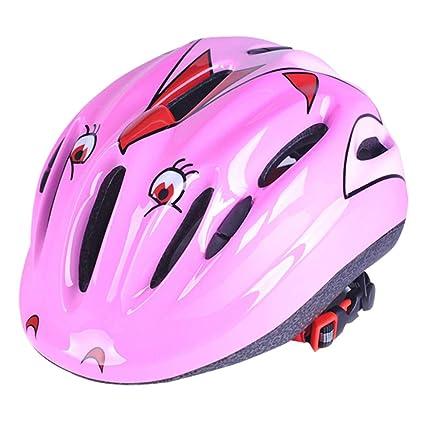 szseven Casco de Seguridad para Bicicleta para Niños, Ideal ...