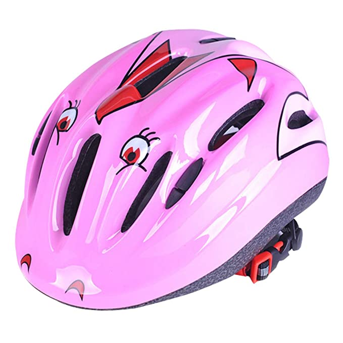 szseven Casco de Seguridad para Bicicleta para Niños, Ideal para ...