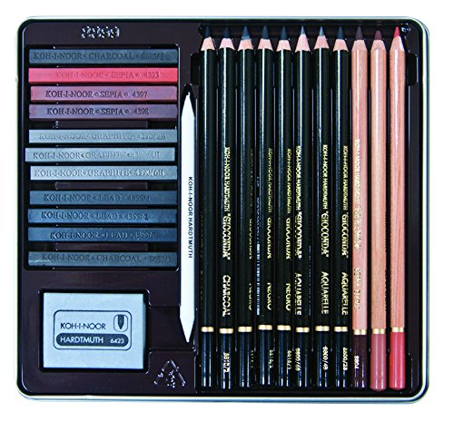 Kohinoor Gioconda 24 Piece Art Set