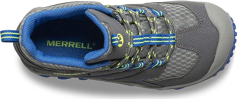 Merrell Kids Chameleon 7 Access Mid Waterproof Hiking Boot