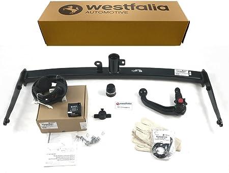 Westfalia Abnehmbare Anhängerkupplung Für Vw Passat B8 Variant Limousine Bj Ab 11 2014 Im Set Mit 13 Poligem Fahrzeugspezifischen Westfalia Elektrosatz Auto