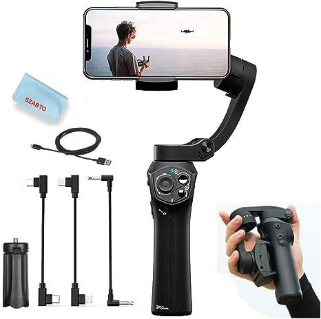 Snoppa Atom Estabilizador de mano plegable de 3 ejes para smartphone iPhone Xs Max Xr X
