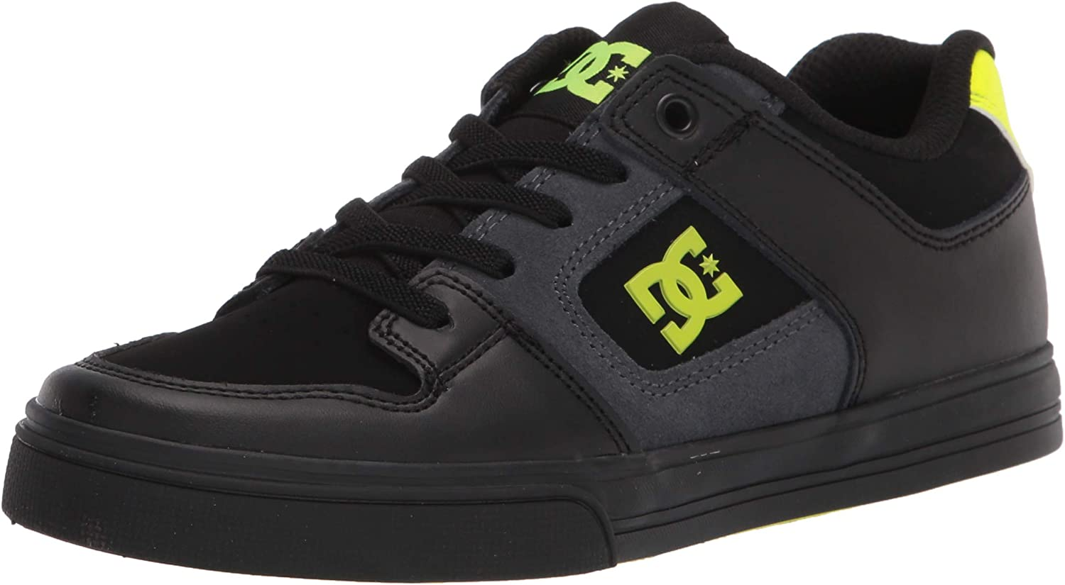 DC Shoes Youth Pure Elastic Bungee Lace Skate Shoe