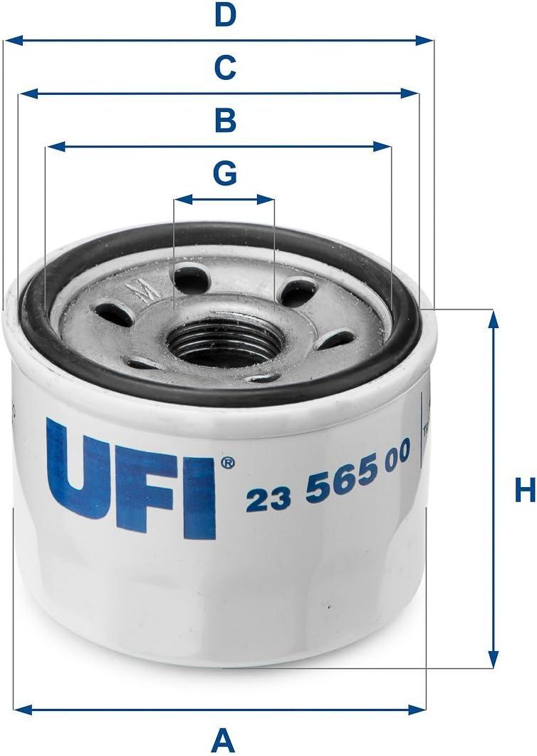 UFI Filters 23.565.00 Oil Filter