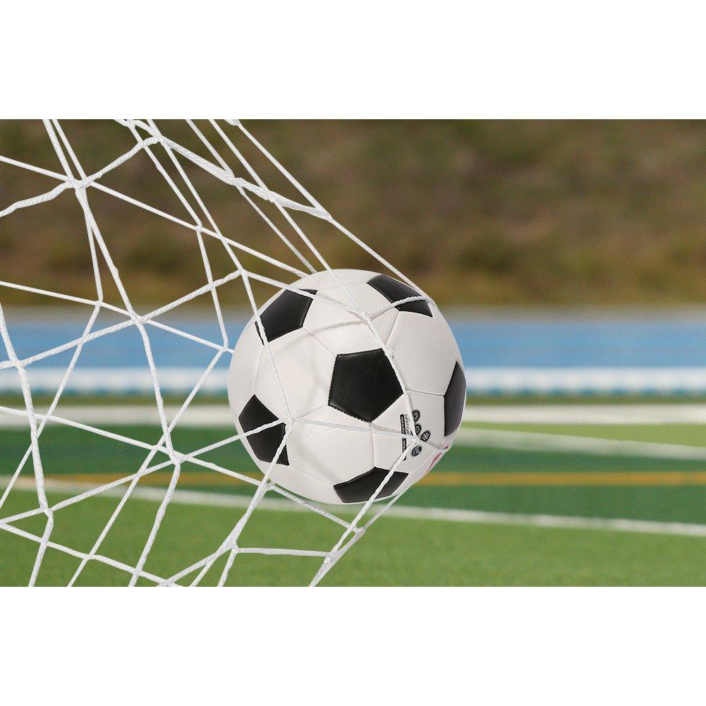 Soccer goal net、全サイズ、交換Goalie Netサッカートレーニング6 x 4 / 8 x 6 / 12 x 6 / 24 x 8フィート B0779N7NYH 6 * 4 ft 6 * 4 ft