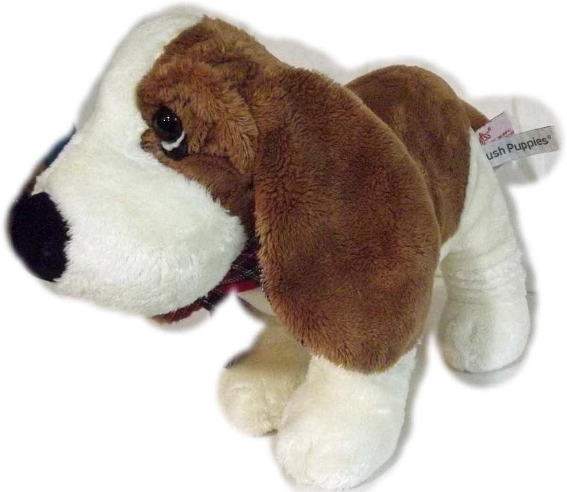 Amazon Com Russ Hush Puppies Plush Floppy Bassett Hound Dog 7 5 Home Kitchen