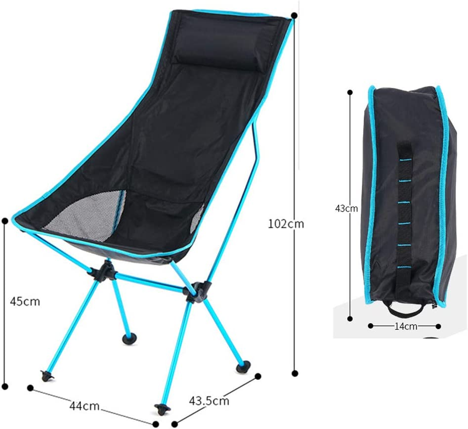 Portable Beach Lounger Deck Chair, Folding Chairs Lunch Break Chair, Camping Chair Fishing Stool, for Beach, Swimming Pool, Garden, Outdoor Indoor Use, Loadable Up To 150 Kg B