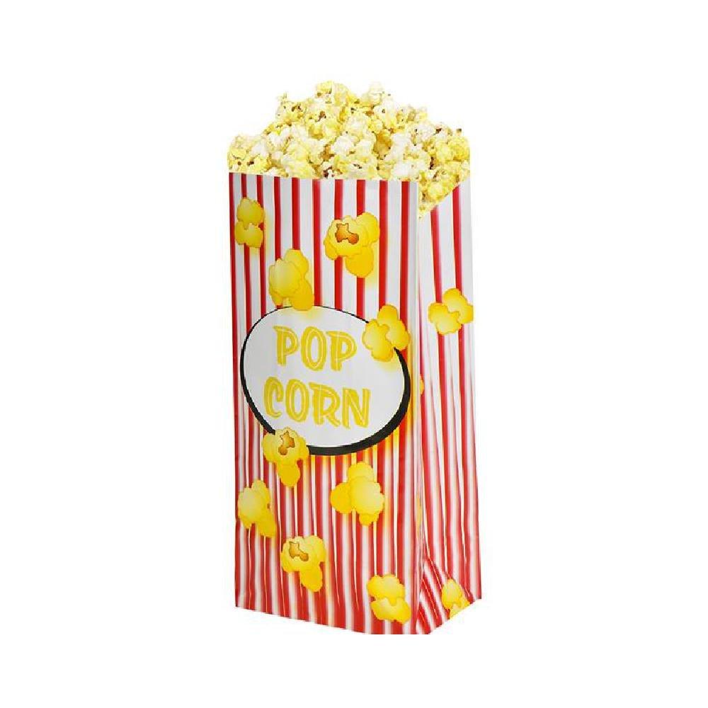 5''X 3.25''X 10'' Popcorn Paper Bag