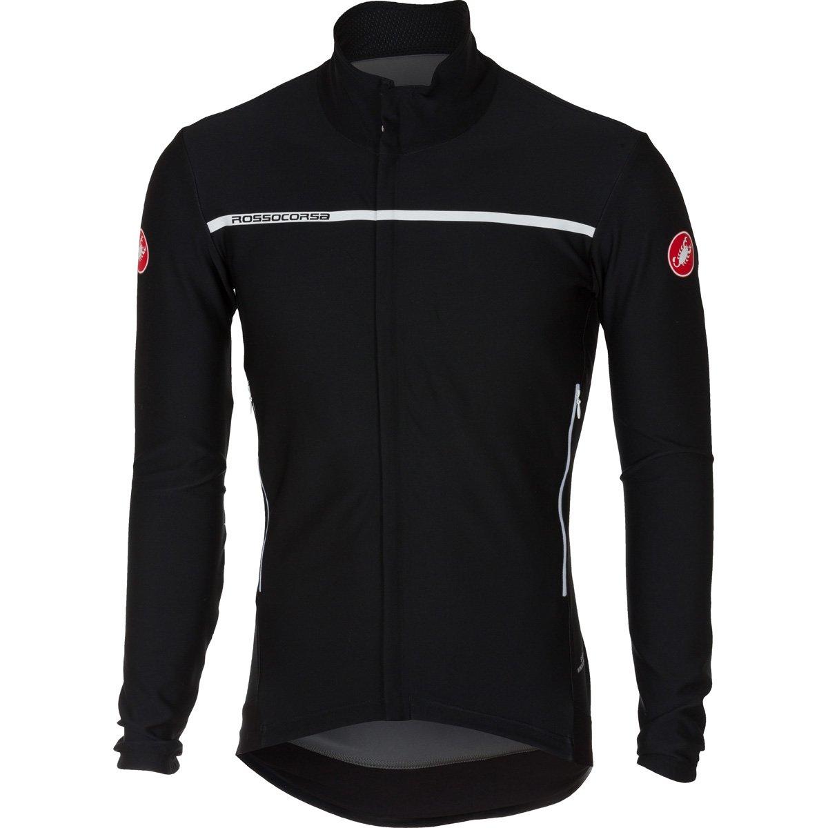 Castelli 2016 / 17メンズPerfetto長袖サイクリングジャケット – b16507 B075FFGXYC X-Large|ライトブラック ライトブラック X-Large