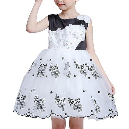 iBaste Vestido de Encaje de las Niñas Vestido de Falda de la Moda 2016 Nuevo Vestido