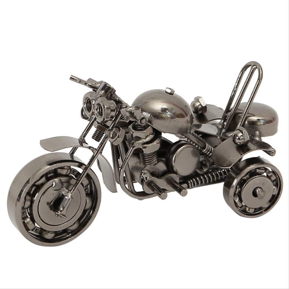 Giow Decoración artesanías para el hogar, Triciclo de Hierro Modelo de Motocicleta Pose Slew Venta al por Mayor Oficina Decoración de Mesa Decoración del hogar Arte