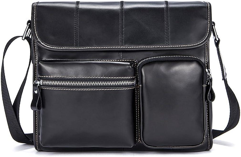 Real Leather Vintage Retro Handmade Laptop BagShoulder Bag Briefcase Satchel bag Messenger Bag