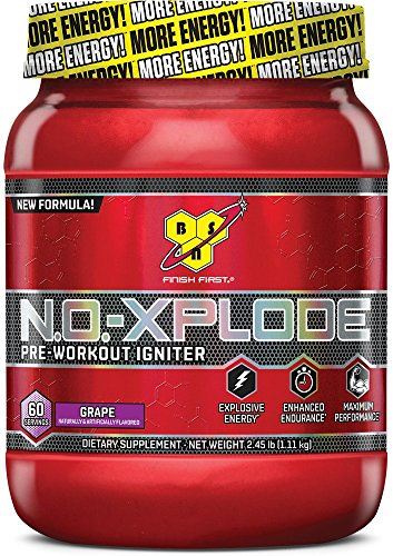 BSN N.O.-XPLODE, Grape, 2.45 lb