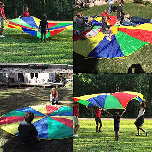 how to make a parachute for kids