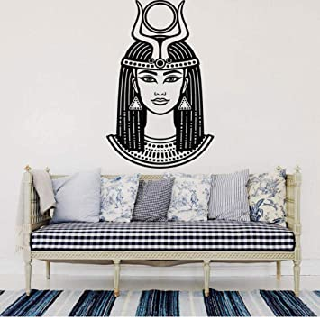 Emperatriz Cleopatra Tatuajes de pared Reina egipcia Vinilo ...