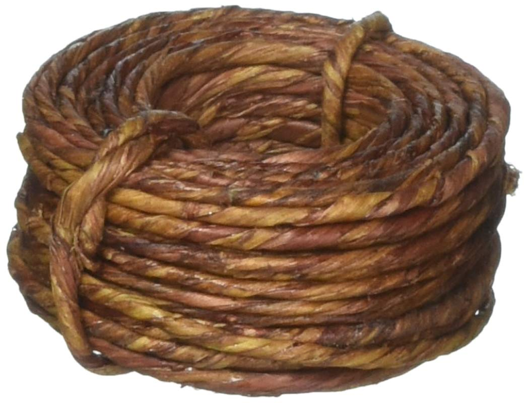 Darice Naturally Wrapped Vine Covered Craft Wire Rope with Rustic Feel for Wedding Crowns Woodland Crowns Head Wreaths Floral Arranging DIY Projects and Decorating 40 feet Brown Panacea 60120