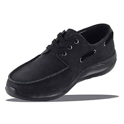 Men's Handsewn Boat Shoe Lace Up Leather Boat Shoes for Men Classic Oxford Business Shoes | Shoes