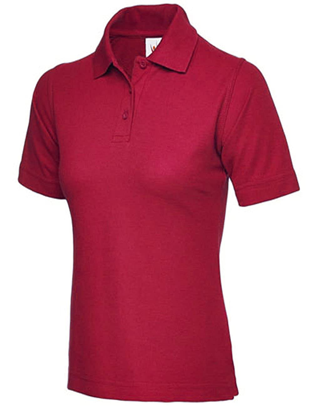 95e43962bb6 Ladies Pique Polo Shirt Size UK 8 to 26 Plus All Colours NEW Casual Sports  Gym Work  Amazon.co.uk  Clothing