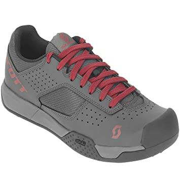 Scott MTB AR 2019 - Zapatillas de Ciclismo para Mujer, Color Gris y Rojo: Amazon.es: Deportes y aire libre