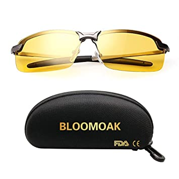 ec50c2ce9fea Best Night Driving Glasses, HD Night Vision Polarized Safety Glasses for  Fishing | Night Driving