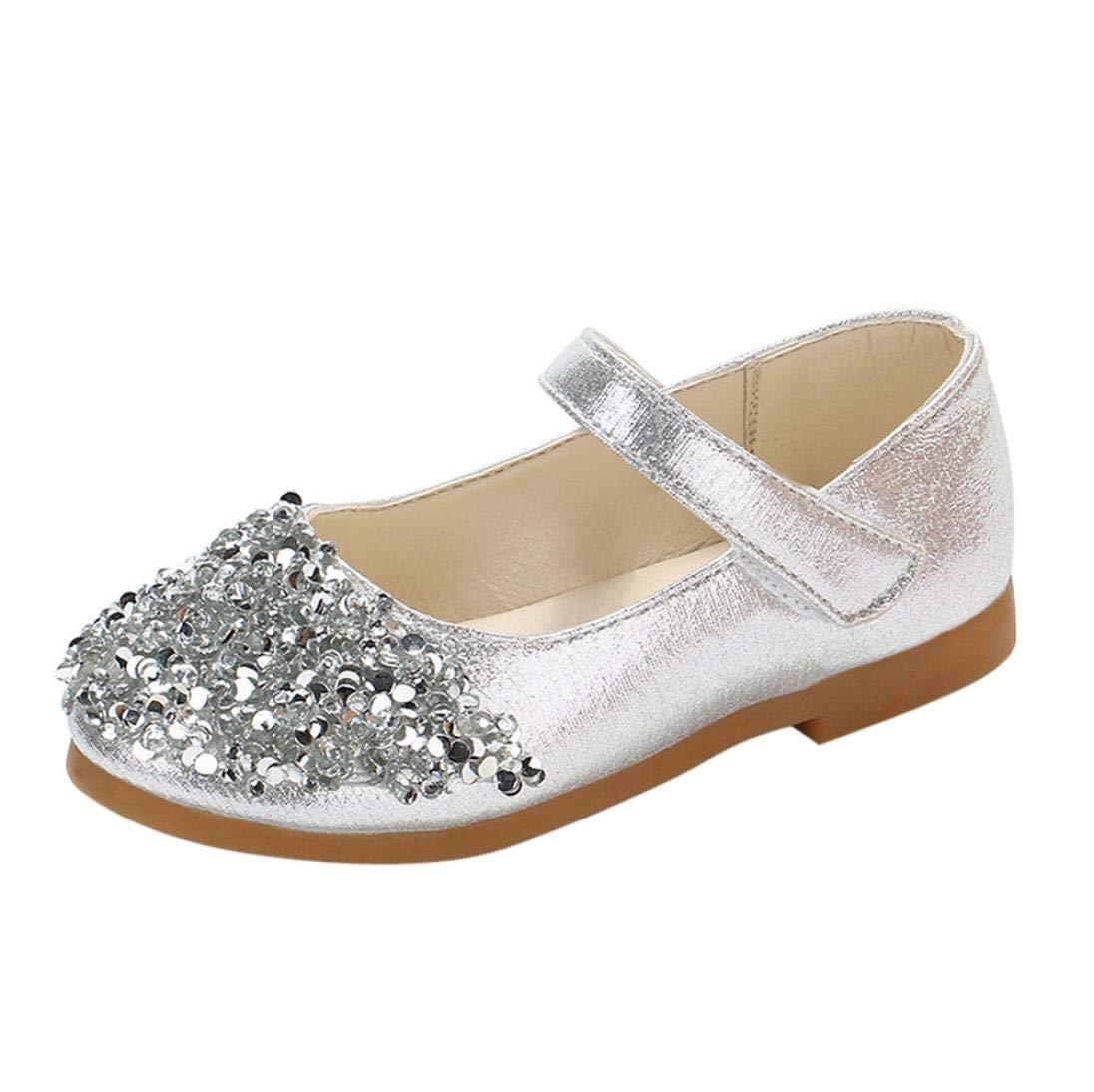 70158e91 Zapatos para Niñas Otoño Invierno 2018 Moda PAOLIAN Calzado de Bailarinas  Danza Suela Blanda Antideslizante Zapatos