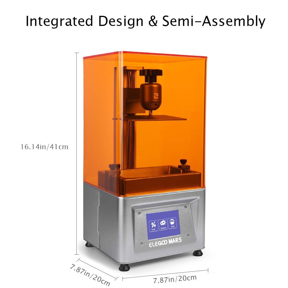 ELEGOO Mars Impresora 3D LCD de fotografía con pantalla táctil ...