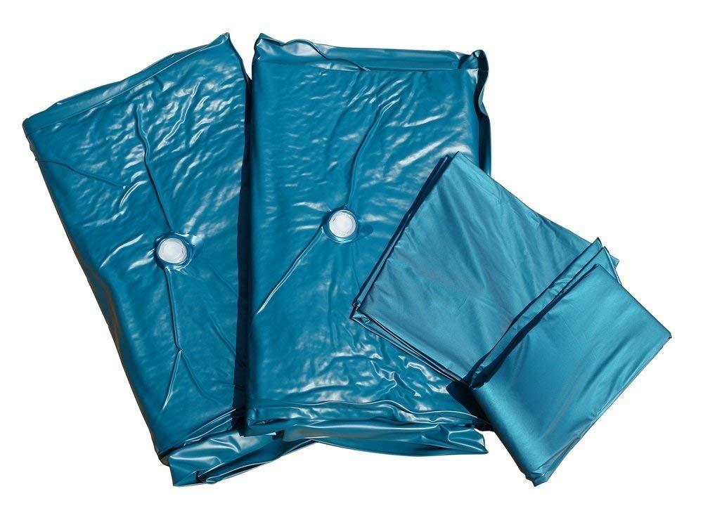 Accesorios para Cama de Agua - 180x200 cm - Colchón - 2 Sistemas de calefacción - Funda - Bastidor de Espuma: Amazon.es: Hogar