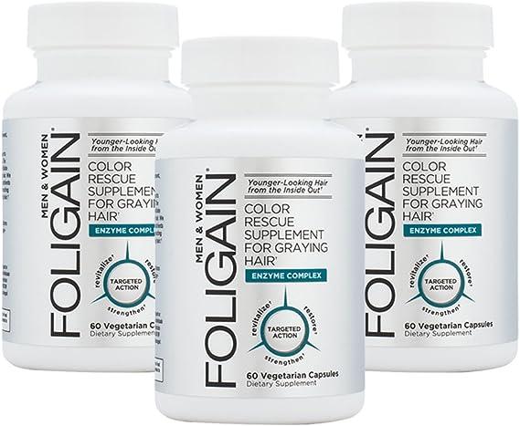 Anticanas Foligain, recuperación del color natural del pelo ...