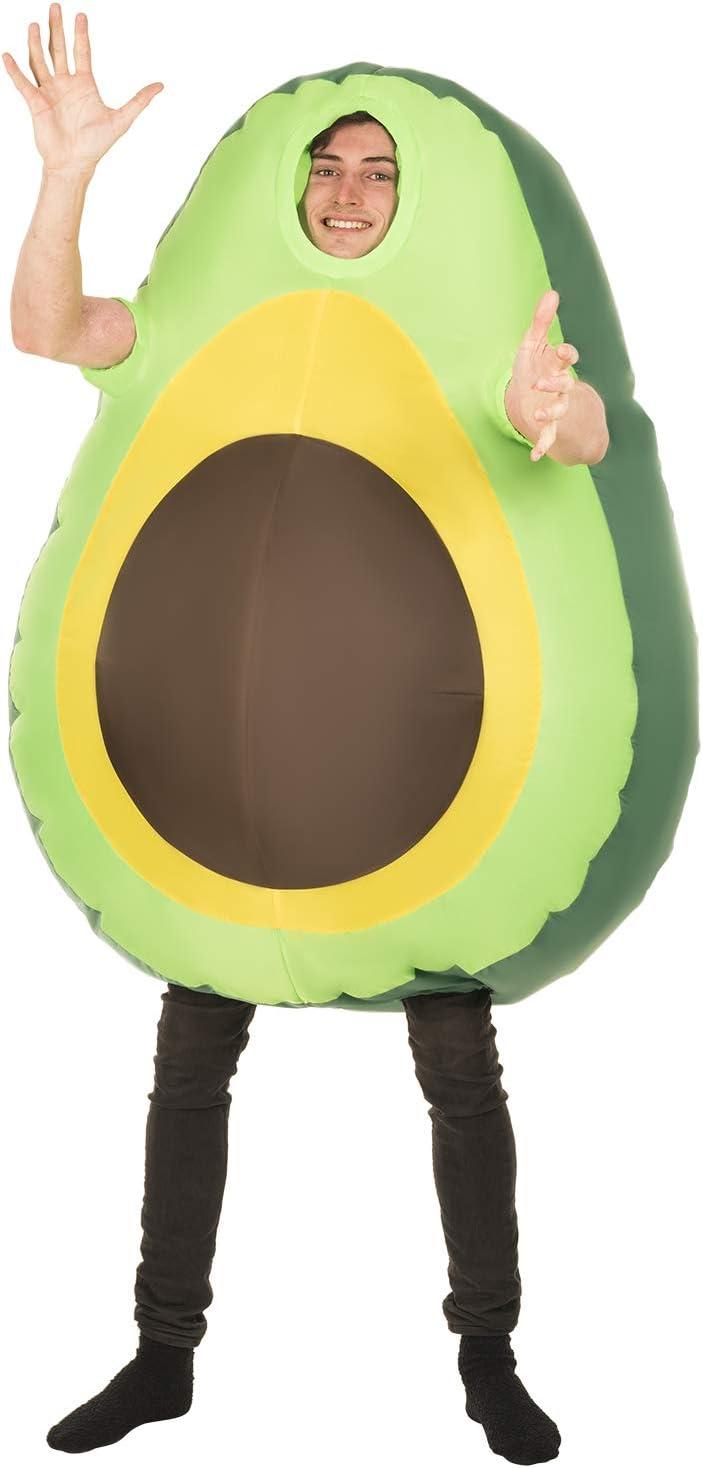 Morph Disfraz de Halloween Inflable Gigante Aguacate Emoji para Adultos: Amazon.es: Juguetes y juegos